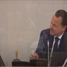 HAOS NA ZASEDANJU SKUPŠTINE: Poslanik urlao ti si lažov, drugi nije ostao dužan, uzvratio brutalnim rečima (VIDEO)