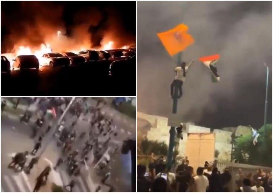 HAOS U IZRAELSKOM LODU: Arapi se digli, palili sinagoge, stavili palestinsku zastavu! Gradonačelnik: Ovo je građanski rat! VIDEO