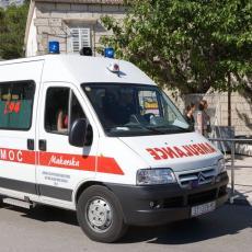 HAOS U SPLITU: Gliser naleteo na decu veslače, mališani prebačeni u bolnicu!