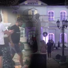 HAOS U ZADRUZI - LETELE DASKE I KAMENJE: Obezbeđenje uletelo Pocepaću ti GLAVU, K*RVETINO! (FOTO)