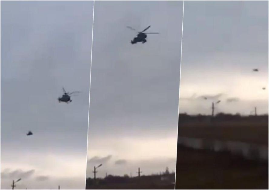 HELIKOPTERSKI DESANT NA KRIM: Prvo se pojavila jedna, a onda i ostale letelice koje su prevozile ruske specijalce (VIDEO)