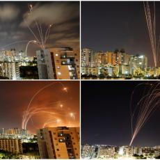 HILJADE RAKETA ZASULO NEBO Fotografije i snimci koji najbolje pokazuju kako se ratuje na Bliskom istoku (FOTO/VIDEO)