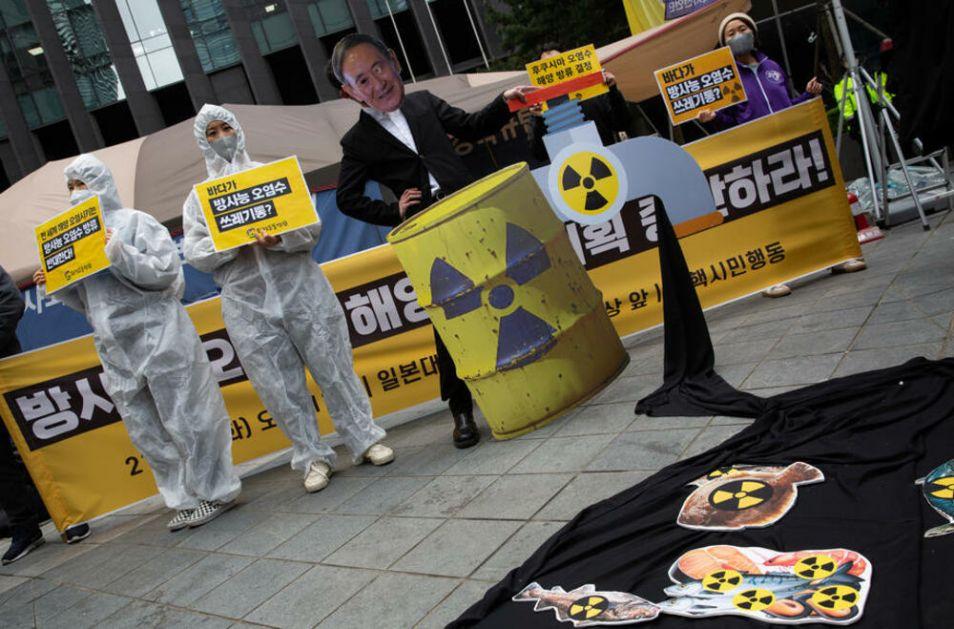 HIT! KINA IZAZVALA JAPANSKOG ZVANIČNIKA: Ako je voda iz reaktora Fukušime bezbedna, ti je popij!