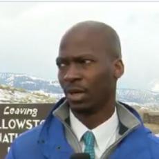 HIT! Novinar je ugledao kako krdo bizona JURIŠA ka njemu - njegova reakcija je BOGOVSKA! (VIDEO)