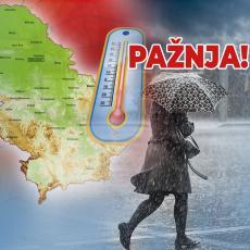 HITNO UPOZORENJE RHMZ! Nevreme se sručilo na Srbiju, a trajaće do OVOG DATUMA