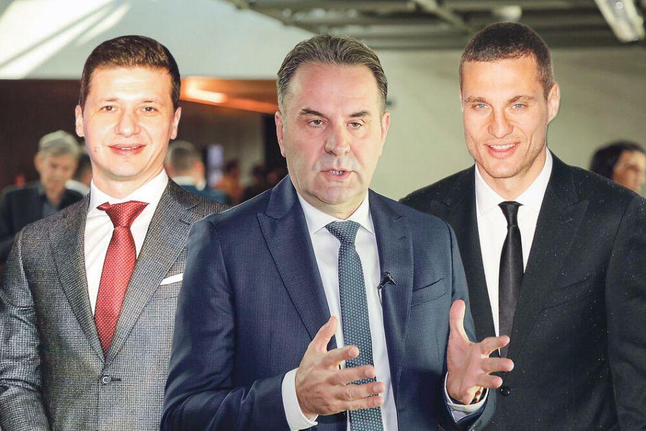 HOĆE LI TRKA ZA PREDSEDNIKA FSS BITI SOLO: Rasim Ljajić favorit, da li će mu na crtu izaći Nemanja Vidić i Marko Pantelić
