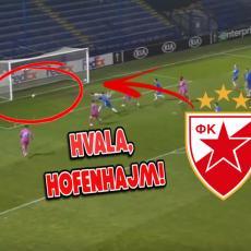 HOFENHAJM SLAVIO ZA ZVEZDINO PROLEĆE: Sa dva gola ispratili Čehe, srpski klub im ŠALJE POZDRAVE (VIDEO)