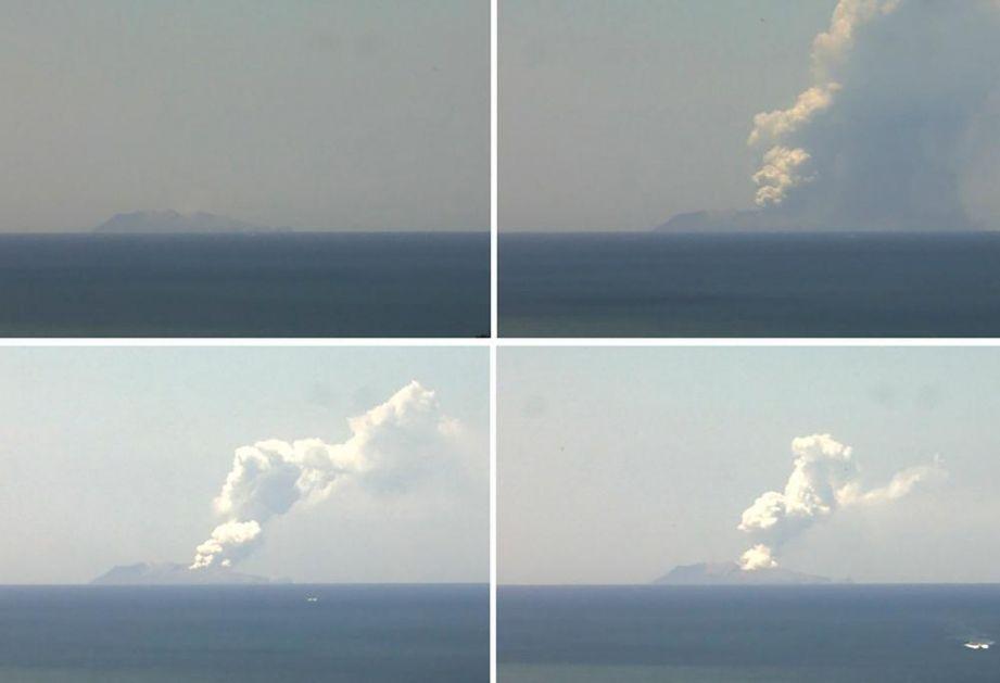HOROR NA NOVOM ZELANDU: Vulkan eruptirao dok su turisti bili u krateru! 1 mrtav i najmanje 20 povređenih! (VIDEO)