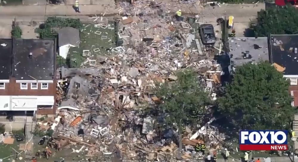 HOROR U BALTIMORU: U eksploziji gasa poginula žena, uništeno nekoliko kuća! (VIDEO)