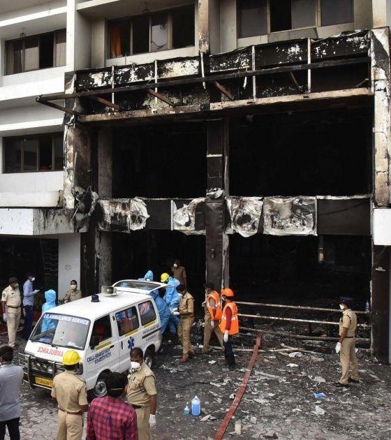 HOROR U INDIJI: Izbio požar u hotelu koji je pretvoren u kovid bolnicu, poginulo sedmoro pacijenata