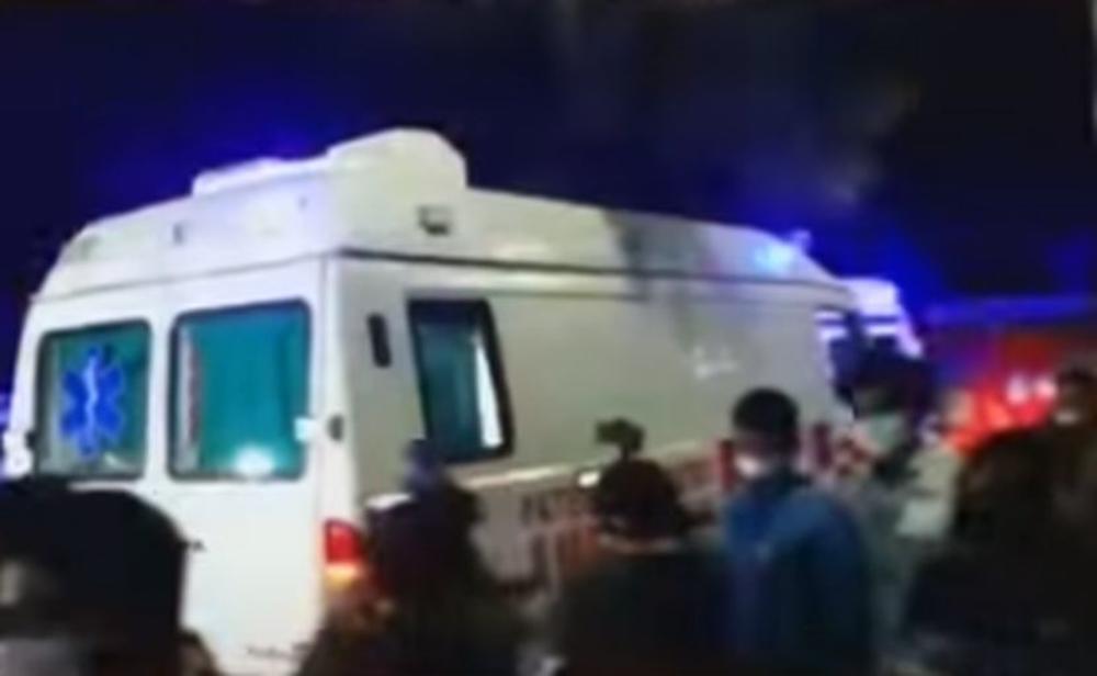 HOROR U INDIJI: Izbio požar u kovid bolnici, najmanje petoro ljudi poginulo, 28 je povređeno (VIDEO)