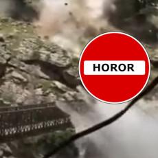 HOROR U INDIJI! Stene se obrušile na vozilo turista, ima poginulih i povređenih (VIDEO)