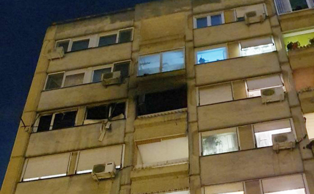 HOROR U NOVON SADU: U požaru izgoreo izgoreo stan!