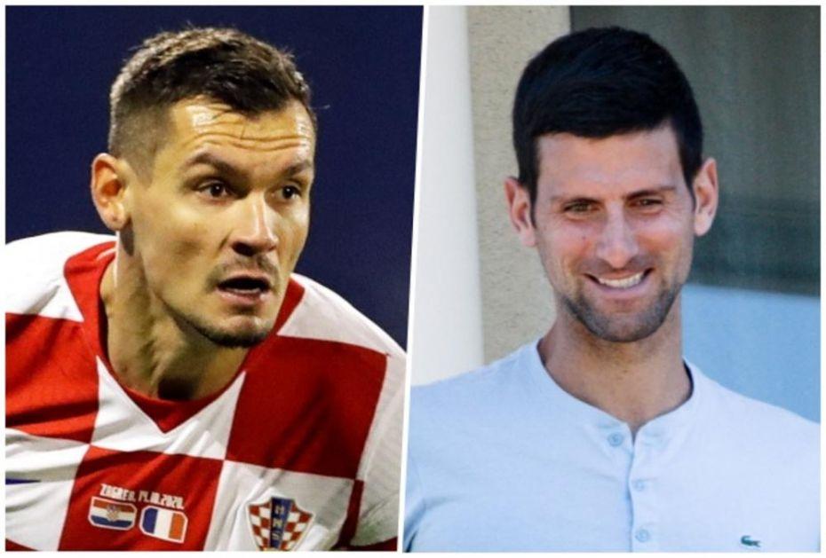 HRVAT STAO UZ NOVAKA: Fudbaler brutalnim rečima podržao Đokovića!