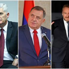 HRVATE BOŠNJACI MAJORIZIRAJU, BiH ĆE SE RASPASTI Dodik odbacio svaku mogućnost novog rata ali razlaz je izvestan