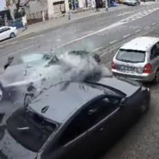 HRVATSKA POLICIJA UHAPSILA LUDOG VOZAČA: Muškarac jurcao audijem po Zagrebu i slupao osam automobila (VIDEO)