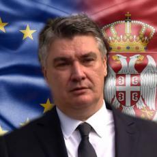 HRVATSKA STAJE SRBIJI NA PUTU KA EU! Milanović najavio USLOV koji će Zagreb uputiti našoj zemlji