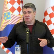 HRVATSKI GENERALI I PREDSEDNIK NAPUSTILI SKUP ZBOG USTAŠKOG POZDRAVA: Milanović demonstrativno otišao za Zagreb (VIDEO)