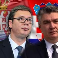 HRVATSKI PREDSEDNIK IZGUBIO KOMPAS Zbog ljubomore prema Srbiji i Vučiću najbrutalnije vređao našu zemlju