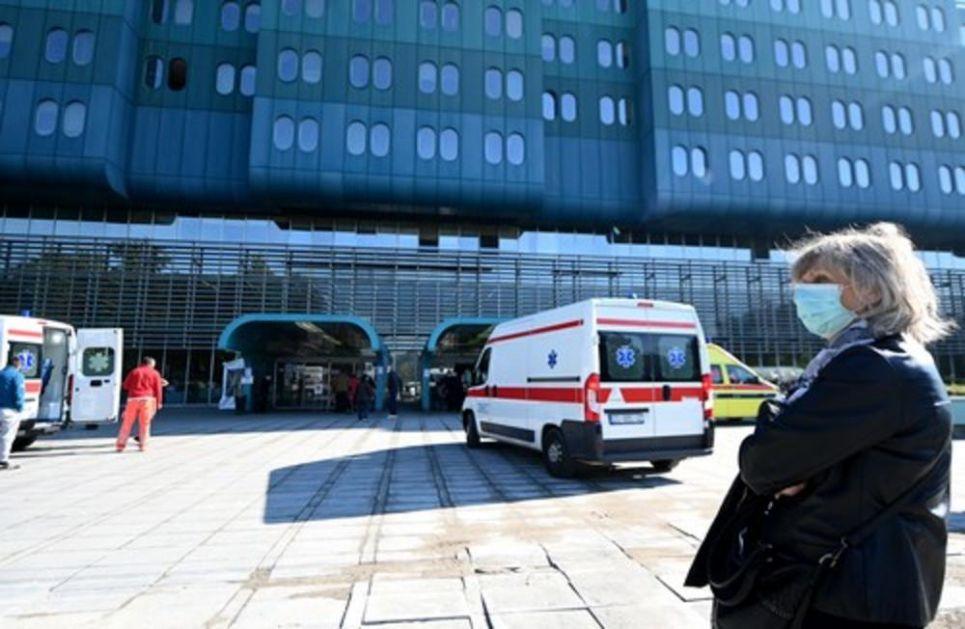 HRVATSKI ZDRAVSTVENI SISTEM PRED SLOMOM: Sve veći broj hospitalizovanih, samo u jednom danu je veći za 100!
