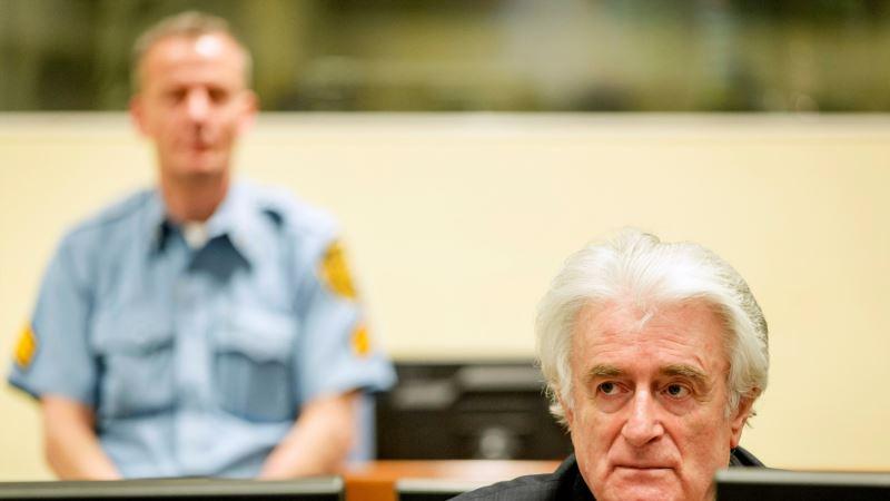 Hag: Naložena istraga zbog Karadžićeva telefoniranja