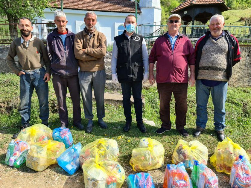 Hajrat podijelio pakete u pribojskim selima