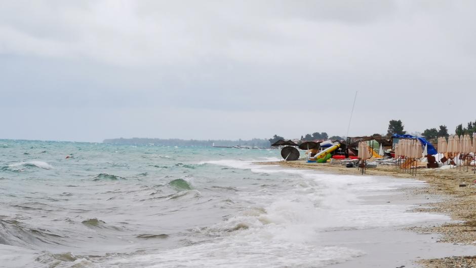 Halkidiki iz vazduha: Pogledajte plaže nakon nevremena