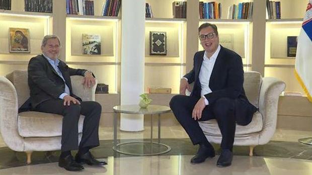 Šta je Han poručio Vučiću o dijalogu Beograda i Prištine