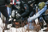 Haos i krv na ulicama Rusije; Francuska: Uvesti im sankcije VIDEO/FOTO