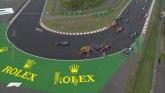 Haos na Hungaroringu, četvorica završila trku FOTO