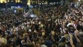 Haos u Gruziji: Protest ispred parlamenta, sukob policije i demonstranata VIDEO