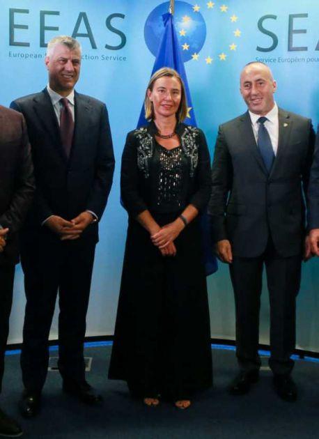 Haradinaj i Mogerini u napetoj atmosferi