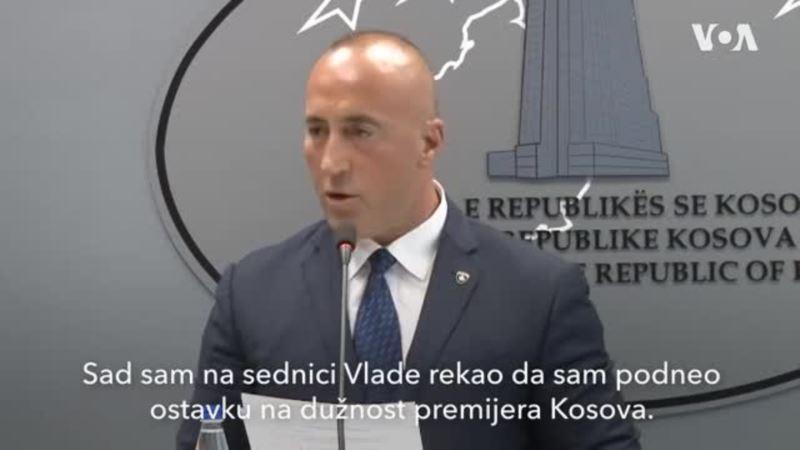 Haradinaj saopštava da podnosi ostavku