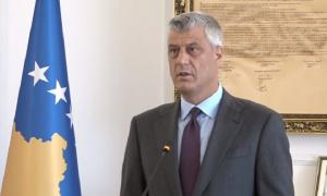 Hašim Tači: Makron podržava sporazum Beograda i Prištine uz korekciju granica