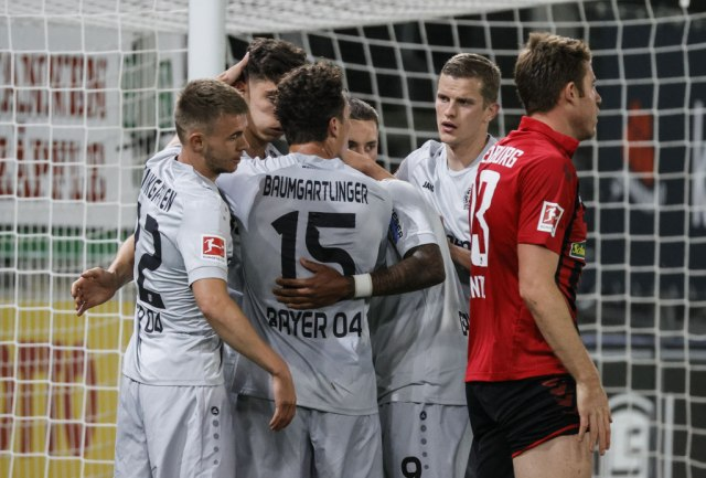 Haverc pogodio za pobedu Leverkuzena VIDEO