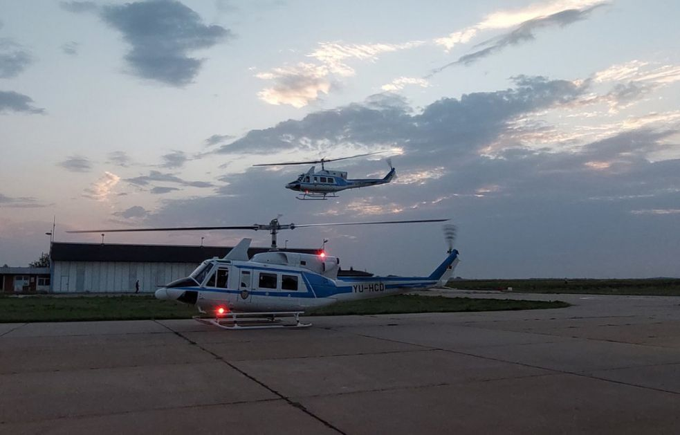 Helikopteri Srbije pomažu Severnoj Makedoniji u gašenju požara