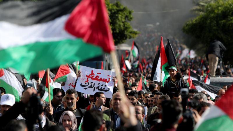 Hiljade Palestinaca protestuje protiv Trampovog mirovnog plana