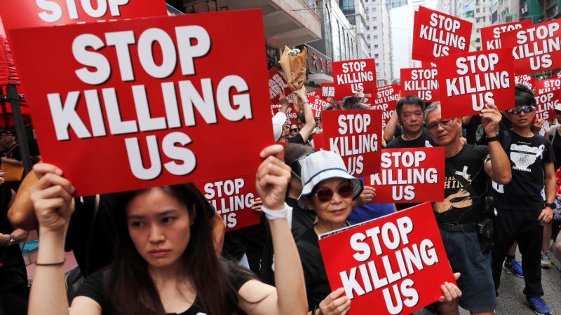Stotine hiljada demonstranata traži ostavku liderke Hong Konga