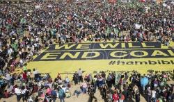 Hiljade gradjana na protestu zbog seče šume kod Kelna