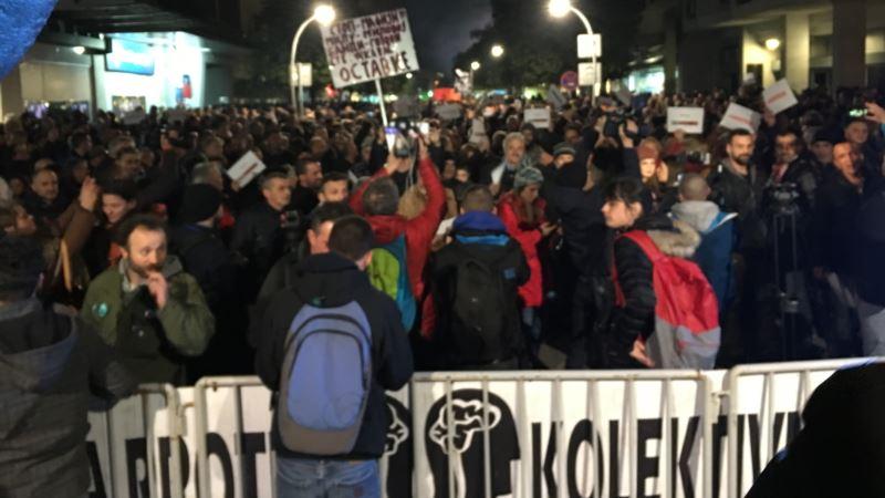 Hiljade građana u Crnoj Gori traži ostavku državnog vrha