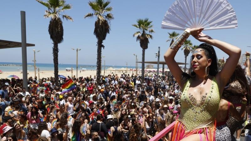 Hiljade ljudi na paradi ponosa u Tel Avivu
