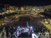 Hiljade ljudi u Istočnom Sarajevu: Pozivamo Đukanovića da dobro razmisli o onome što je počinio VIDEO/FOTO
