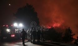 Hiljadu vatrogasaca protiv 50 šumskih požara u Grčkoj, najveći na ostrvu Eviji