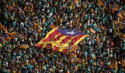 Hiljde ljudi na demostracijama podržale secesiju Katalonije (VIDEO)