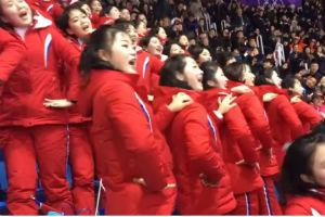 Hit na OI: Navijačice Severne Koreje dobile više aplauza od takmičara!