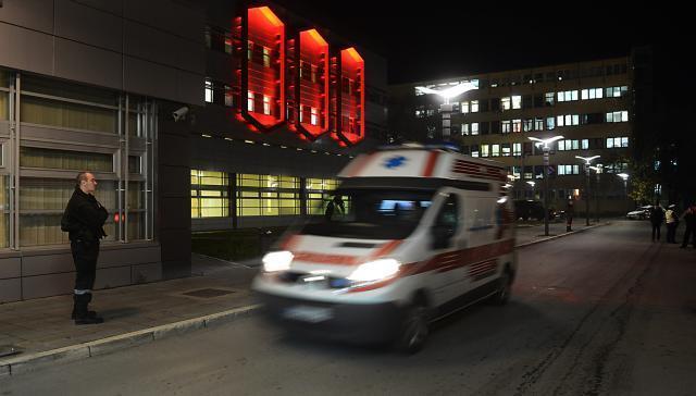 Hitna pomoć: 122 poziva tokom noći, dve osobe povređene