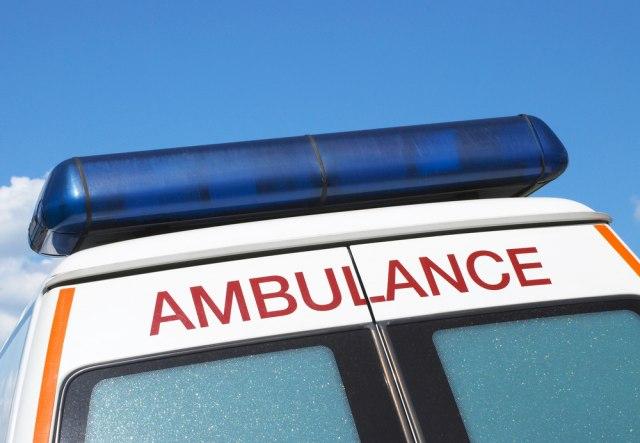 Hitna pomoć: Motociklista teže povređen