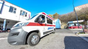 """Hitna pomoć: Saobraćajni udes jutros kod motela """"Hiljadu ruža"""""""