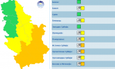 Hladni talas tek sledi, RHMZ upozorava, tri boje Srbije