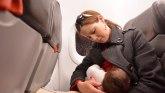 """Holandija: Kako je dojenje u avionu poljuljalo"""" Tviter"""